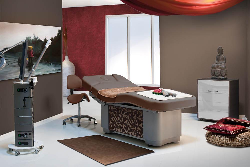 Gharieni spa table MLW F1 wood