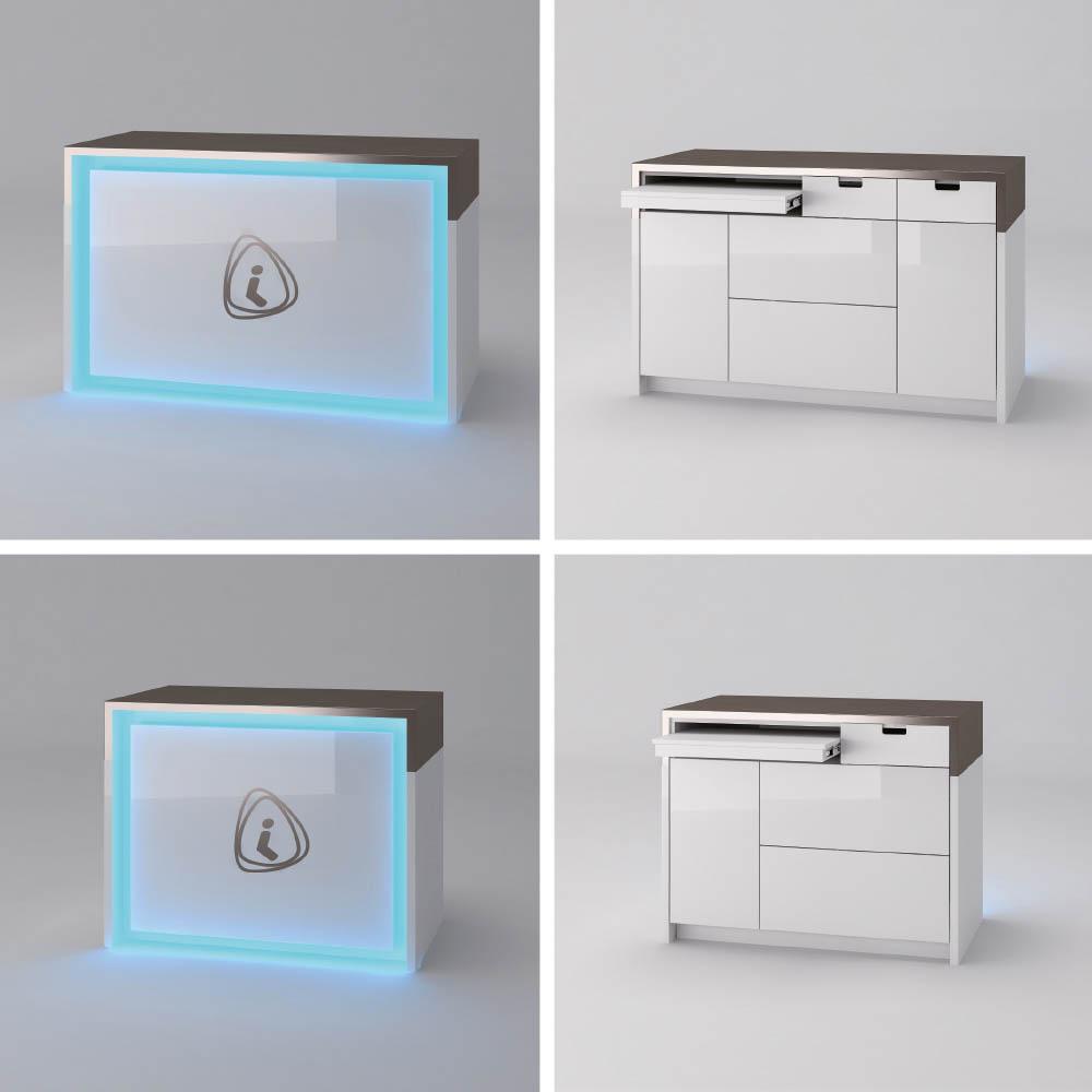 Gharieni K10 Reception Counters furniture