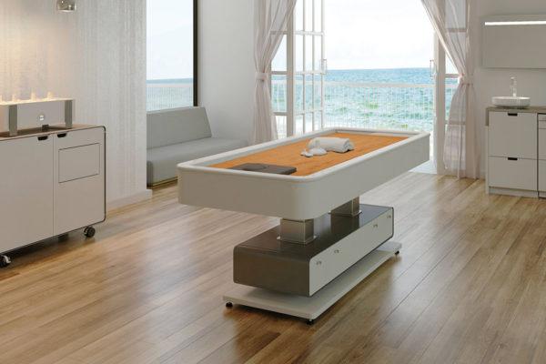 Gharieni quartzbed spa table mlx quartz