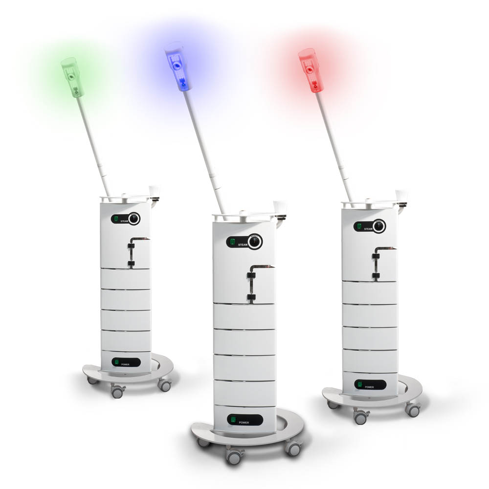 Gharieni steamer LED Coloured Light Facial Steamer